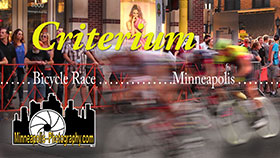 Pro Road Bicycle Race - Uptown Minneapolis YouTube Video